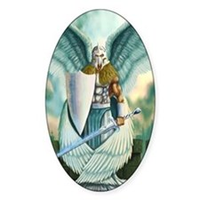 Saint Angel Michael Decal