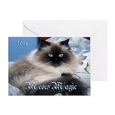 2014 Coco Calendar Cover Greeting Card