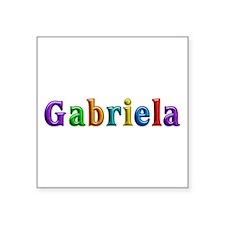 Gabriela Shiny Colors Square Sticker