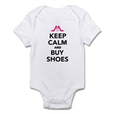 Keep calm and buy shoes Infant Bodysuit
