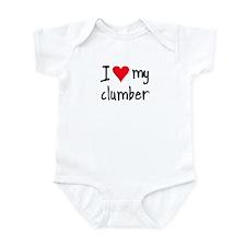 I LOVE MY Clumber Infant Bodysuit