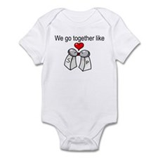 Like Salt and Pepper Infant Bodysuit