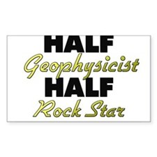Half Geophysicist Half Rock Star Decal