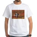 Alpha Male Wolf White T-Shirt