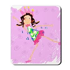 Sweet Ballerina Dancer Mousepad
