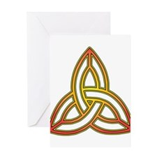 Triquetra - Trefoil Knot Greeting Cards