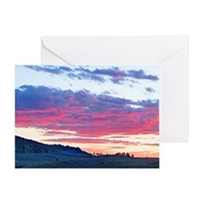 Colorado Skies Greeting Card