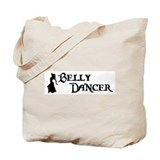 Belly Dancer Pose Tote Bag