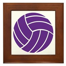 Volleyball - Sports Framed Tile