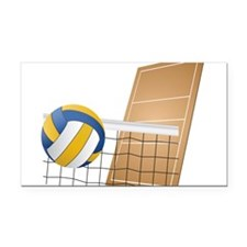 Volleyball - Sports Rectangle Car Magnet