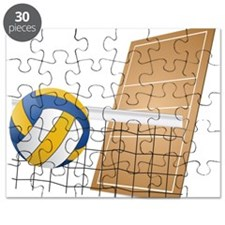 Volleyball - Sports Puzzle