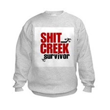 Shit Creek Survivor Sweatshirt