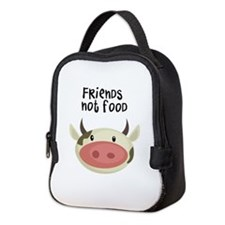 friends not food Neoprene Lunch Bag