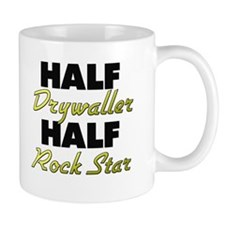 Half Drywaller Half Rock Star Mugs