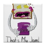 Thats My Jam Tile Coaster