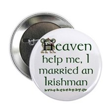 "I Married An Irishman 2.25"" Buttons (10 pack)"