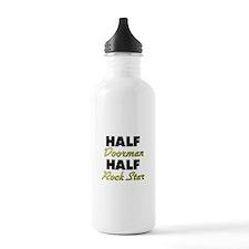 Half Doorman Half Rock Star Water Bottle