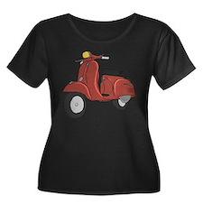 Vespa Super Sport Plus Size T-Shirt
