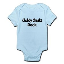 Chubby Cheeks Rock Body Suit