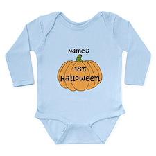 Custom 1st Halloween Onesie Romper Suit