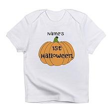 Custom 1st Halloween Infant T-Shirt