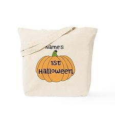 Custom 1st Halloween Tote Bag