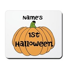 Custom 1st Halloween Mousepad