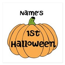 Custom 1st Halloween 5.25 x 5.25 Flat Cards