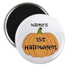 """Custom 1st Halloween 2.25"""" Magnet (10 pack)"""