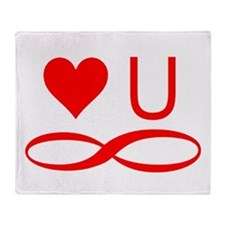 Love you forever Throw Blanket