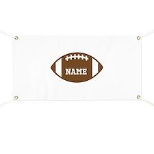 Custom Football Banner