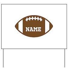 Custom Football Yard Sign