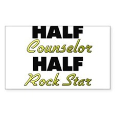 Half Counselor Half Rock Star Decal