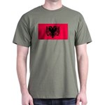 Albania Blank Flag Green T-Shirt