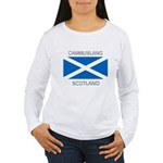 Cambuslang Scotland Women's Long Sleeve T-Shirt