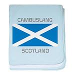Cambuslang Scotland baby blanket