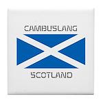 Cambuslang Scotland Tile Coaster