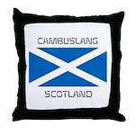 Cambuslang Scotland Throw Pillow