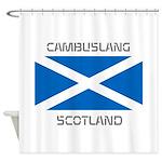 Cambuslang Scotland Shower Curtain