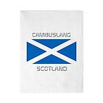 Cambuslang Scotland Twin Duvet
