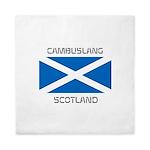 Cambuslang Scotland Queen Duvet