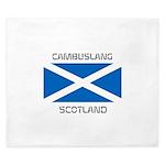 Cambuslang Scotland King Duvet