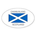 Cambuslang Scotland Sticker (Oval 10 pk)