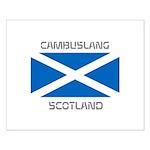 Cambuslang Scotland Small Poster