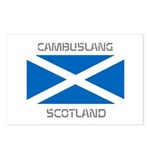 Cambuslang Scotland Postcards (Package of 8)