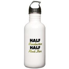 Half Conductor Half Rock Star Water Bottle