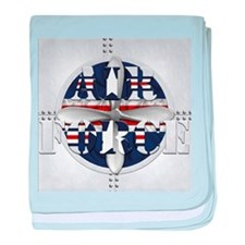 Harvest Moons Air Force baby blanket