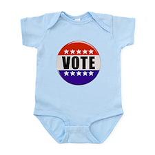 Vote Button Body Suit