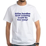 400m hurdles running easy BLU Shirt