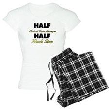 Half Clinical Data Manager Half Rock Star Pajamas
